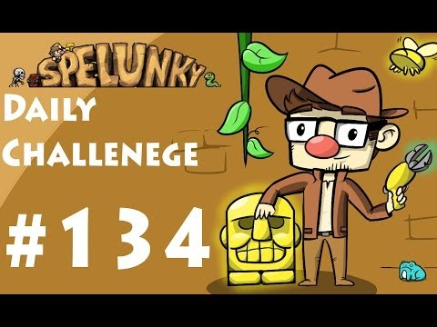 McD Plays - Spelunky - Daily Challenge 134