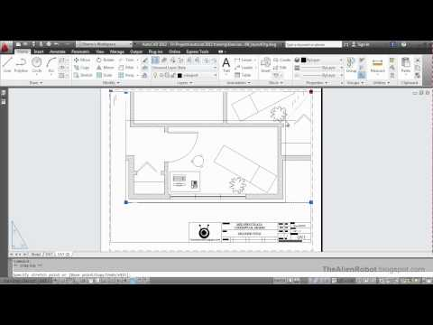 AutoCAD 2012 Introduction Training-1508 Organizing layouts