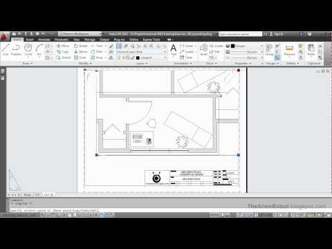 AutoCAD 2012 Introduction Training-1508 Organizing layouts