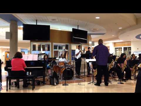 Crete Monee Middle School Jazz Band 2014-04-14