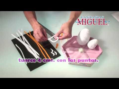Como hacer un Centro de mesa para Baby Shower-2