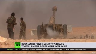 'Our militaries get along very well': Russia ready to cooperate with US in Syria - RUSSIATODAY