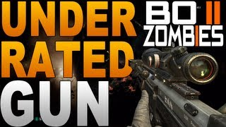 Black Ops 2 Zombies: The DSR-50 - The Most Under-Rated Gun on Zombies