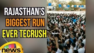 Rajasthan's biggest run ever TecRush Held Today | Mango news - MANGONEWS
