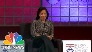 Susan Rice: 'I Was In The Same Age Cohort As Those Georgetown Prep Boys' | NBC News - NBCNEWS