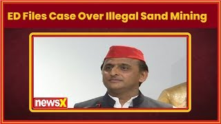 UP Sand Mining: ED files case over illegal sand mining in UP district - NEWSXLIVE