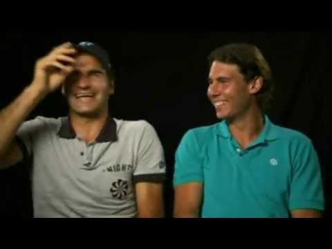 Federer & Nadal pissing themselves