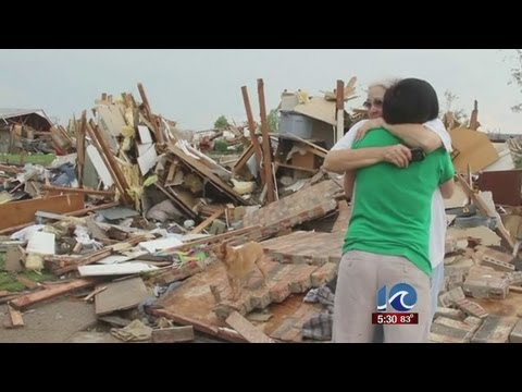 Stephanie Harris reports on charity organizations in Moore, Oklahoma
