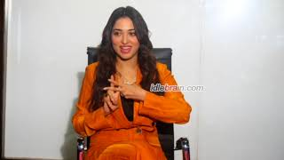 Tamannaah interview about Next Enti - idlebrain com - IDLEBRAINLIVE