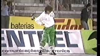 Reportagem Sporting - 2 Dinamo Minsk - 0 de 1984/1985 com entrevista a Oceano