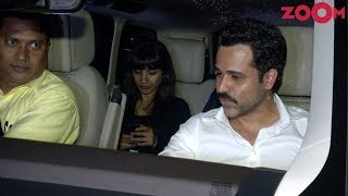 Emraan Hashmi Spotted With His Wife Parveen Shahani & Friends For Dinner At Restaurant - ZOOMDEKHO