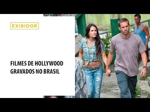 Filmes de Hollywood gravados no Brasil