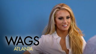 WAGS Atlanta | Kaylin Jurrjens Brushes Up on Her Hosting Skills | E! - EENTERTAINMENT