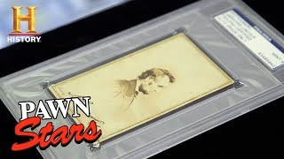 Pawn Stars: Abraham Lincoln Signed Parlor Card (Season 15) | History - HISTORYCHANNEL