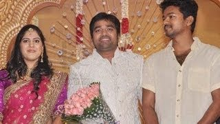 Ilayathalapathy Vijay, Thala Ajith, Suriya at Shiva Wedding Reception | Celebrity Wedding