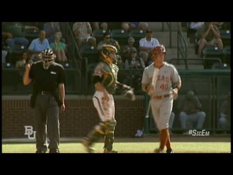 Baylor Baseball: Highlights vs Texas (Sat)