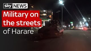 Mugabe: On the streets of Zimbabwe's capital - SKYNEWS
