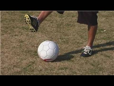 Soccer: Spinning the Ball : How to Spin a Ball