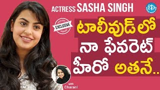 Actress Sasha Singh Exclusive Interview    Talking Movies With iDream #688 - IDREAMMOVIES