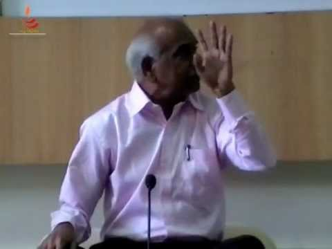 Dr. S B Chandekar on Indian Perspective of Education. Ex. Director Education, Pune.