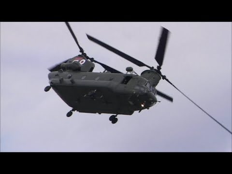 RAF Chinook Waddington Airshow 2011 (Saturday)