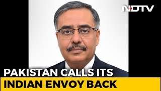 "Pak Calls Back Envoy ""For Consultations"" Amid Tension Over Pulwama Attack - NDTV"