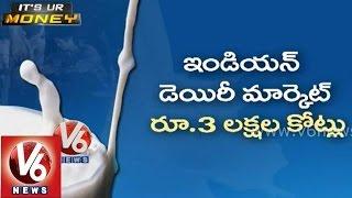 Indian Dairy Market - Stock Market in volatile - Budget planning for shopping - It's UR Money - V6NEWSTELUGU