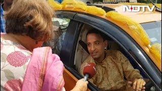 शादी के बाद मतदान, नवविवाहित जोड़ा पहुंचा वोट देने - NDTVINDIA
