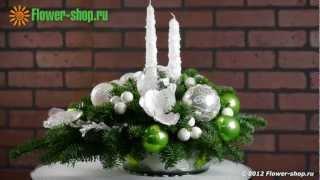 Новогодняя композиция «Зимний сон»