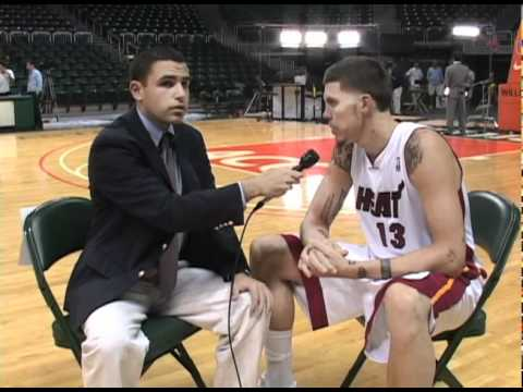 Miami Heat Media Day - 1-on-1 w/ Mike Miller