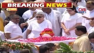 Atal Bihari Vajpayee's ashes immersed in Ganges at Haridwar | CVR News - CVRNEWSOFFICIAL