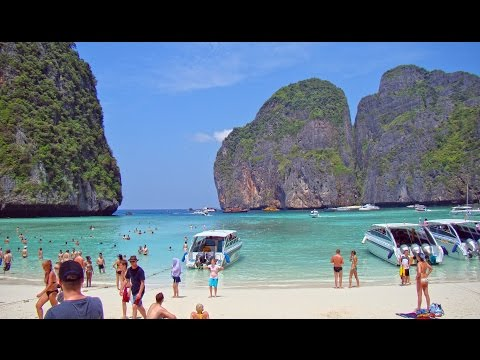 Maya Beach - Ko Phi Phi Lee , Thailand HD