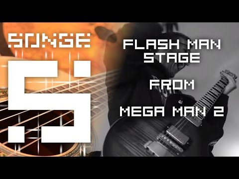 Mega Man 2 - Flash Man Stage cover【Songe】
