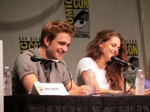 Twilight Comic-Con 2012: Kristen Stewart, Rob Pattinson