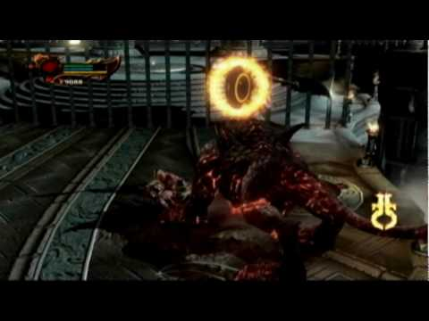 God of War 3 Beating Hades Cerberus on TITAN EASY METHOD in 2 1/2 minutes!