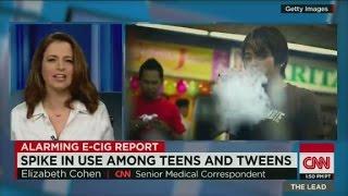 E-cigarette, hookah use triples among teens - CNN