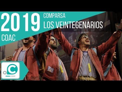 La agrupación Los veintegenarios llega al COAC 2019 en la modalidad de Comparsas. Primera actuación de la agrupación para esta modalidad.