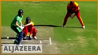 🇿🇼 Zimbabwe cricket team closing in on a world cup place | Al Jazeera English - ALJAZEERAENGLISH