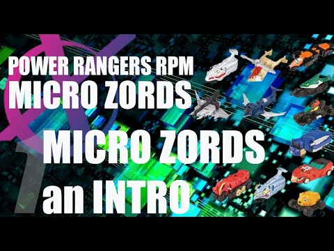 Power Rangers RPM Micro Zords reviews pt 1- Introduction to the Micro Megazord series