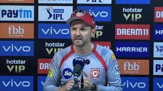 21 Apr, 2019 - IPL 2019: KXIP Head Coach appreciates Shikhar Dhawan & Shreyas Iyer - ANIINDIAFILE