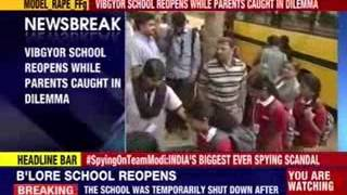 Bangalore: Vibgyor School reopens while parents caught in dilemma - NEWSXLIVE