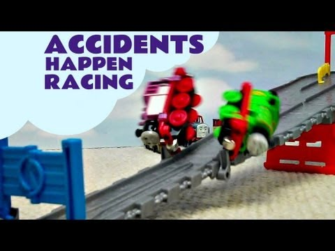Thomas The Tank Engine Accidents Happen Take N Play Go Go Speedy Railway
