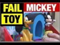 FAIL DISNEY MICKEY Toy FUNNY Product Review by Mike Mozart of JeepersMedia view on youtube.com tube online.