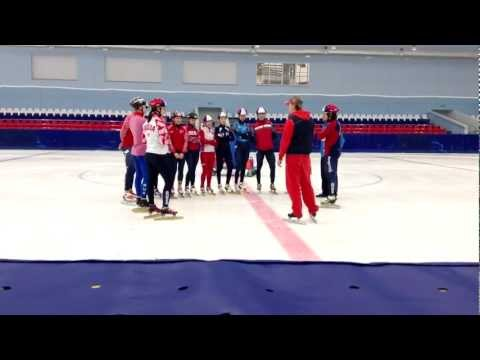 Harlem Shake - Russia, National Team, Short-track