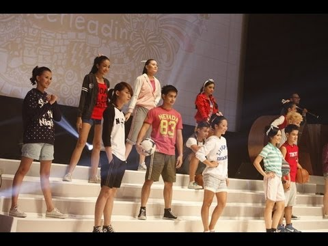 GADIS Sampul 2013 - Sporty Team Fashion Show
