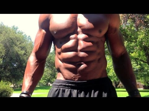 "8 Pack Abs Hitch "" Transformers"" Core Workout & Flexing"