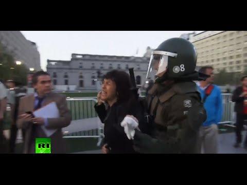 Chile: Enfrentamientos entre la aborógenes Mapuche y la Policía