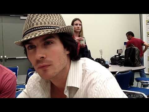 Ian Somerhalder Talks Possible Damon/Bonnie Hookup at Comic-Con 2011