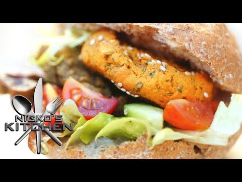 VEGETARIAN BURGER - VIDEO RECIPE