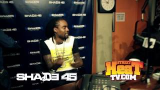 Wale: Fa We We Freestyle In Studio Performance